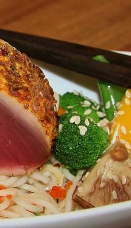 Seared Tuna & Sesame by Chef Brendan